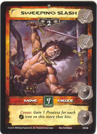 Sweeping Slash (U) Conan CCG