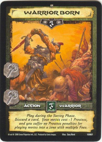 Warrior Born (U) Conan Collectible Card Game