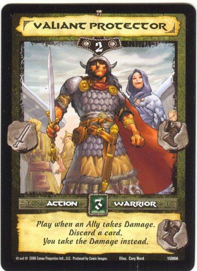 Valiant Protector (U) Conan Collectible Card Game