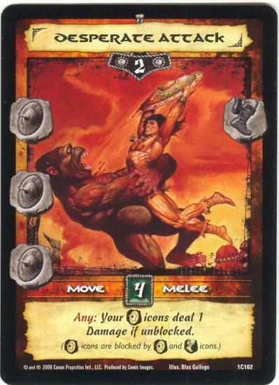 Desperate Attack (C) Conan CCG