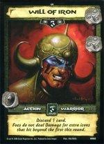 Will of Iron (R) Conan Collectible Card Game