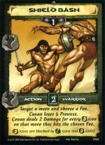 Shield Bash (C) Conan CCG