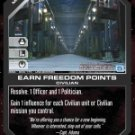 Earn Freedom Points BSG-066 (U) Battlestar Galactica CCG