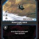 Raptor 563 BSG-167 (C) Battlestar Galactica CCG