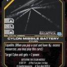 Cylon Missile Battery BSG-019 (C) Battlestar Galactica CCG