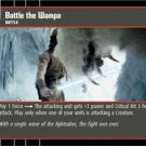 #80 Battle the Wampa (ESB uncommon) Star Wars TCG