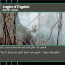 #106 Jungles of Dagobah Star Wars TCG (ESB uncommon)