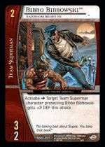 Bibbo Bibbowski, Barroom Brawler (U) DWF-001 DC World's Finest VS System TCG