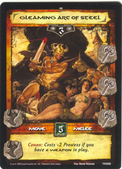 Gleaming Arc of Steel (VC) Conan CCG