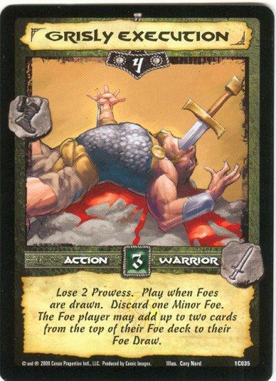 Grisly Execution (C) Conan CCG