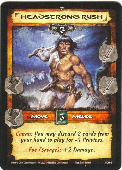 Headstrong Rush (C) Conan CCG