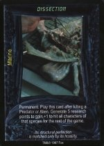 Dissection (U) Aliens Predator CCG Premiere Edition