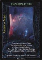 Disengaging Attack (C) Aliens Predator CCG Premiere Edition