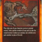 Taking the Death Blow Combat R Rage CCG Limited Edition