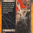 Spear of Deceit Equipment R Rage CCG Limited Edition