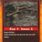 Forceful Wind Combat R Rage CCG Limited Edition