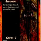 Fang Dagger Equipment R Rage CCG Limited Edition