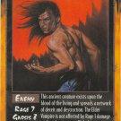 Elder Vampire Enemy R Rage CCG Limited Edition