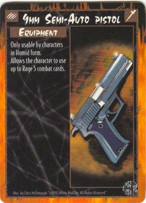 9mm Semi-Auto Pistol Equipment U Rage CCG Limited Edition