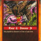 Bite Combat C Rage CCG Limited Edition