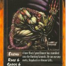 Black Spiral Dancer Enemy U Rage CCG Limited Edition