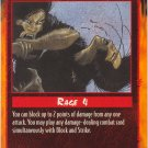 Block and Strike Combat U Rage CCG Limited Edition