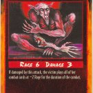 Broken Limb Combat C Rage CCG Limited Edition