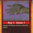 Flesh Wound Combat C Rage CCG Limited Edition