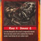 Eyes Gouged Combat U Rage CCG Limited Edition
