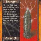 Elder Stone Equipment U Rage CCG Limited Edition
