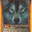 Wolf-Spirit Ally C Rage CCG Limited Edition