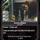 Accused BSG-056 (C) Battlestar Galactica CCG