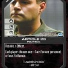 Article 23 BSG-059 (C) Battlestar Galactica CCG