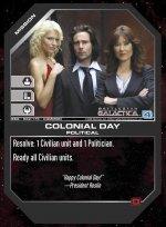 Colonial Day BSG-062 (C) Battlestar Galactica CCG