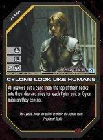 Cylons Look Like Humans BSG-020 (U) Battlestar Galactica CCG