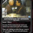 Difference of Opinion BSG-064 (U) Battlestar Galactica CCG