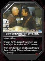 Difference of Opinion BSG-064 (U) Battlestar Galactica CCG