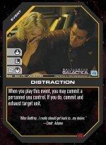 Distraction BSG-023 (U) Battlestar Galactica CCG