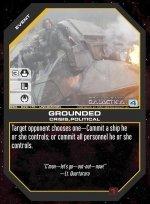 Grounded BSG-029 (U) Battlestar Galactica CCG