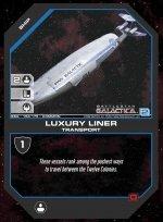Luxury Liner BSG-158 (U) Battlestar Galactica CCG