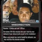 Misdirection BSG-081 (C) Battlestar Galactica CCG