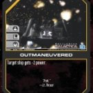 Outmaneuvered BSG-036 (C) Battlestar Galactica CCG