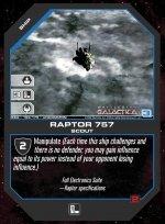 Raptor 757 BSG-169 (U) Battlestar Galactica CCG