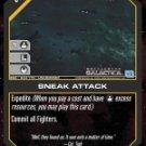 Sneak Attack BSG-043 (U) Battlestar Galactica CCG
