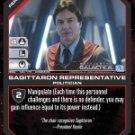Tom Zarek, Sagitarron Representative BSG-140 (U) Battlestar Galactica CCG