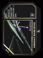 Assault Base Star BTR-001 (U) Battlestar Galactica CCG