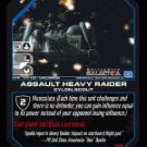Assault Heavy Raider BTR-131 (U) Battlestar Galactica CCG
