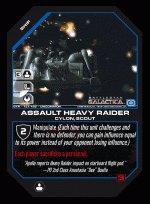 Assault Heavy Raider BTR-131 (U) Battlestar Galactica CCG