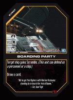 Boarding Party BTR-008 (C) Battlestar Galactica CCG