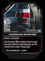 Caprican Supplies BTR-050 (C) Battlestar Galactica CCG